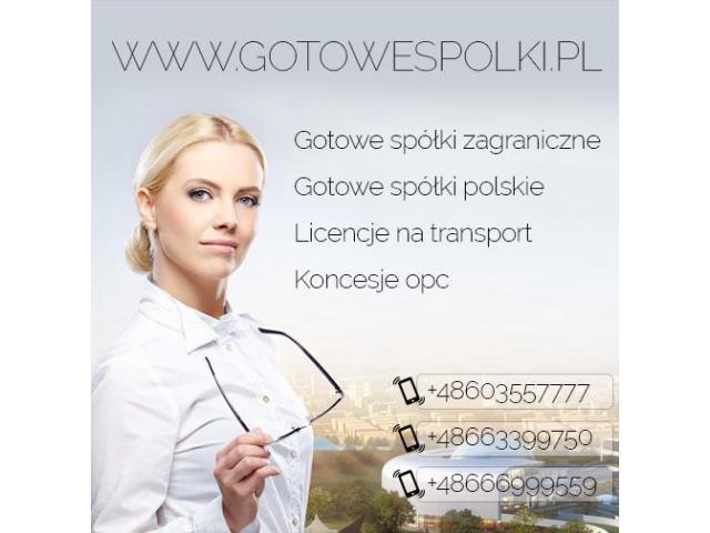 Gotowe Spółki Czeskie, Węgry, w Bułgaria Słowacja, Hiszpanii