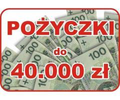 POŻYCZKI dla FIRM: 10.000 - 40.000 zł >>>