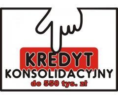KONSOLIDACJA zobowiązań do 550.000 zł